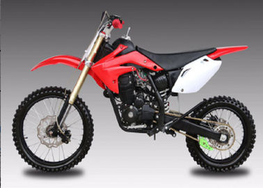 China 125cc / 150cc Street Legal Dirt Bike , Gas Powered Dirt Bikes For Adults supplier