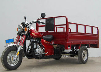 Three Wheel 150cc Cargo Tricycle Gasoline Power Cargo Transportation Application