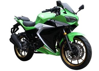 China Automatic Street Sport Motorcycles , Electric Sports Bike Motorcycle 150cc Engine supplier