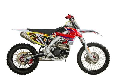 High Strength Engine Childrens Gas Powered Dirt Bikes With Durable Alloy Swing Arm
