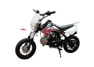 China 125cc Air Cooling Engine Gas Dirt Bikes Drum Brake 55km / H Max Speed supplier