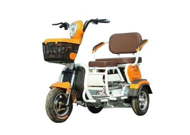 3 Wheels Electric Cargo Motorcycle Foldable Front Rear Drum Brake 60V 800W Power