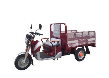 China 50cc 110cc 125cc Three Wheel Cargo Motorcycle , Motorized Cargo Trike / Moped supplier