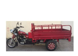 China Red Color Three Wheel Cargo Motorcycle Air Cooling Engine Alloy Wheel 162FMJ supplier