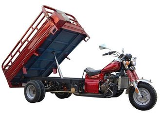 Gas Three Wheel Cargo Motorcycle 250cc Water Coolingn Engine 167MM Steel Wheel