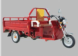China Cargo Carriage Electric Three Wheel Motorcycle 48V 800W Motor 120AH Battery  supplier