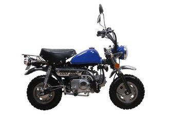 China Buggy 4 Stroke Off Road Bikes / Motorbike 35 Km/H Max Speed Blue Steel Body supplier