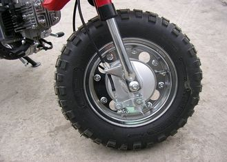 Street Legal Off Road Motorcycles 4 Stroke 50cc 139FMB Engine Anti - Skid Tire