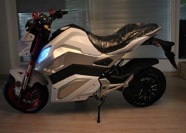 Ac 220v 250hz Electric Powered Motorcycles With Lithium Battery 72v 30ah
