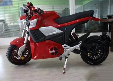 China Direct Hub Motor Drive Electric Sport Motorcycle Disc Brake 70km / H Max Speed supplier