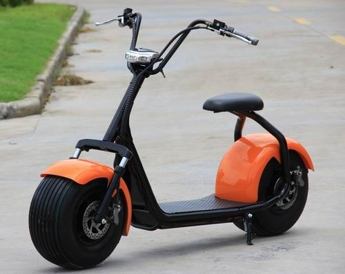 China 2 Wheels Lito Battery Electric Motorcycle Scooter 40km/h Max Speed No Foldable supplier
