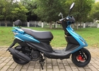 China Custom Gas Motor Scooter Convenient Space Saving 710 Mm Seat Height company