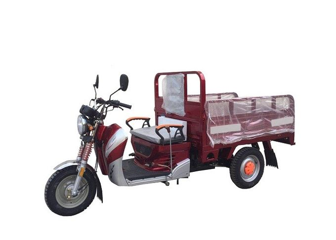 50cc 110cc 125cc Three Wheel Cargo Motorcycle , Motorized Cargo Trike / Moped