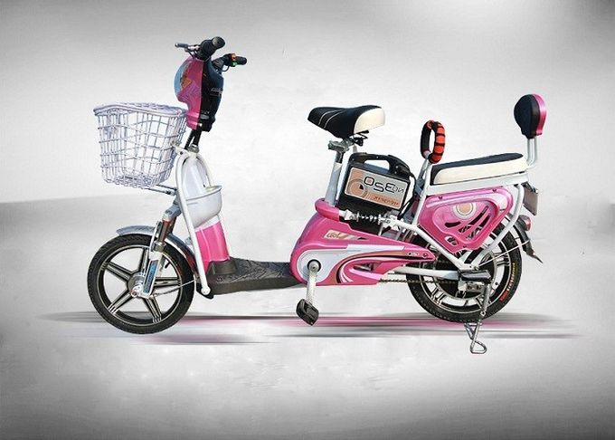 Pink Color fashion  model  Electric Bike Moped Scooter , Electric Moped Scooter For Adults